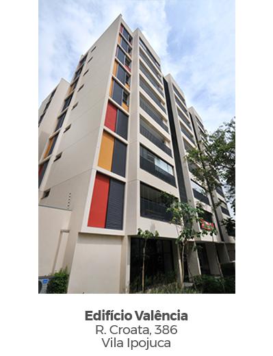 Edifício Valência, na Vila Ipojuca. Empreendimento entregue pela Paulo Guimarães